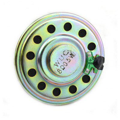 Jtron 50mm 0.5W 8Ohm Small Round Speaker for Learners to DIY