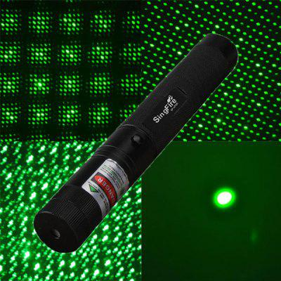 SingFire SF - LPG6 532nm 5mw Green Starry Light Laser Pen (1 x 18650 / 16340 Battery)
