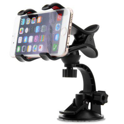 Practical Rotating Sucker Mount Phone Clip Stand Car Holder