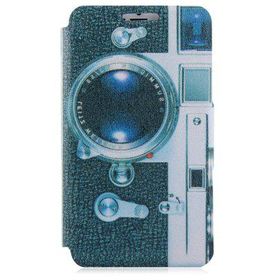 Camera Design Protective Full Body Case with Credit Card Holder Stand for iPhone 6 Plus  -  5.5 inches