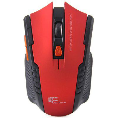 Buy RED W4 2.4G 6 Buttons 2400DPI Wireless Gaming Optical Mouse with Receiver for Desktop Laptop for $9.64 in GearBest store