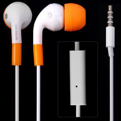 Awei ESQ9i 1.2m Cable In - ear Earphone with Mic for Smartphone Tablet PC