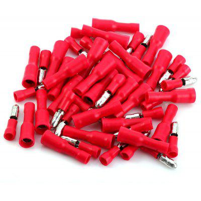 Male Female Insulated Bullet Connector Crimp Terminals Wire  -  50pcs