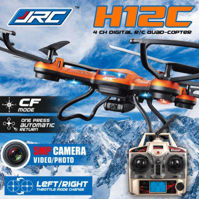 JJRC H12C Headless Mode 2.4GHz 4CH RC Quadcopter 6 Axis Gyroscope 360 Degree Stumbling RTF UFO with 5.0MP HD Camera Image