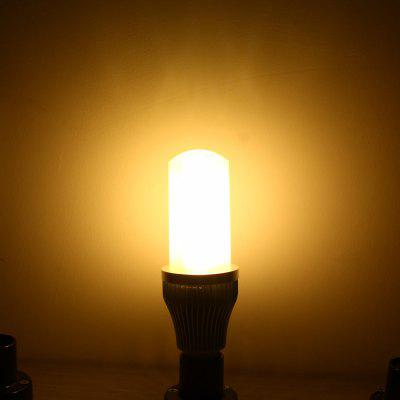YouOKLight 1200LM E27 13W SMD 2835 78 LED Lights Silver Fan Corn Lamp  -  3000K 100  -  250V