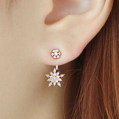 Diamante Flowerlike Earring Jackets