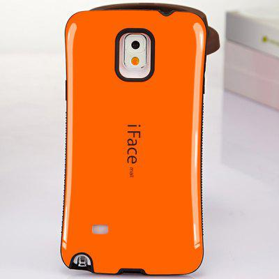 iFace mall Curve Design PC and TPU Material Back Case for Samsung Galaxy Note 4 N9100