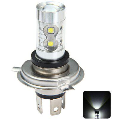 Sencart P43T H4 P22D 3100Lm 50W 10 x Cree XPE LED Car Fog Bulb Running Light ( Pure White DC 12  -  24V )