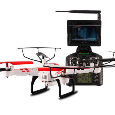 WLtoys V686G 4CH 5.8G FPV Real Time Transmission 2.4G RC Quadcopter with 2.0MP Camera Headless Mode Auto  -  Return Function