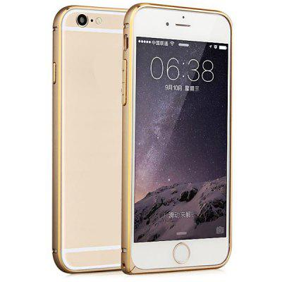 Buy GOLDEN Fabitoo Frame Style Aluminium Alloy Bumper Case for iPhone 6 4.7 inches for $9.36 in GearBest store