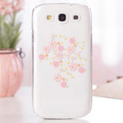 Fabitoo Cartoon Painting Phone Back Cover Plastic Case for Samsung S3 i9300