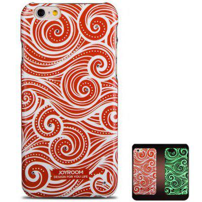 Joyroom Circle Pattern PC Material Fluorescent Back Case for iPhone 6  -  4.7 inches