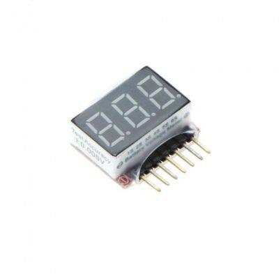 1S  -  6S LED Lipo Battery Voltage Indicator Tester CheckerMulti Rotor Parts<br>1S  -  6S LED Lipo Battery Voltage Indicator Tester Checker<br><br>Feature: Tools/accessories of radio control series toy<br>Package Contents: 1 x Lipo Battery Voltage Indicator Tester Checker<br>Package size (L x W x H): 3 x 3.5 x 2 cm<br>Package weight: 0.026 kg<br>Type: Servo, Batteries