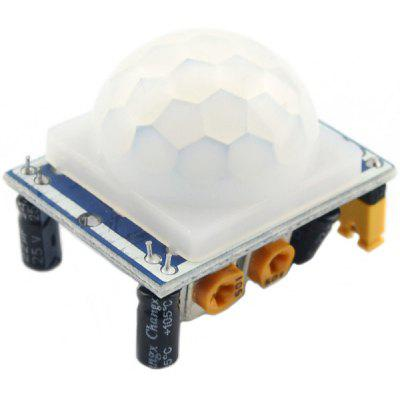 HC  -  SR501 Multifunctional Human Body Pyroelectricity Infrared Sensor Module for Security Products