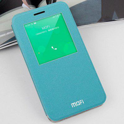 Mofi Phone Cover PU Case with Window Stand Function for Meizu MeiBlue Note