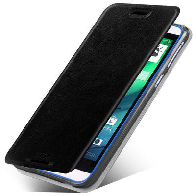 Mofi Phone Cover PU Case Skin with Stand Function for HTC Desire 820