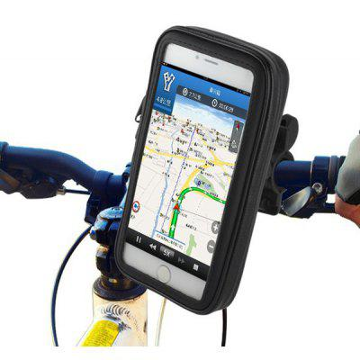 Water Resistant Bicycle Motorcycle 7.2 inch Bag Holder Bike Handlebar Pack