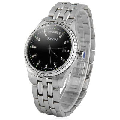 ShiLonG 8085G Men Sapphire Watch Automatic Mechanical Wristwatch