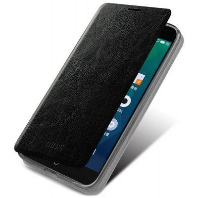 Mofi Phone Cover PU Case Skin with Stand Function for Meizu MX4