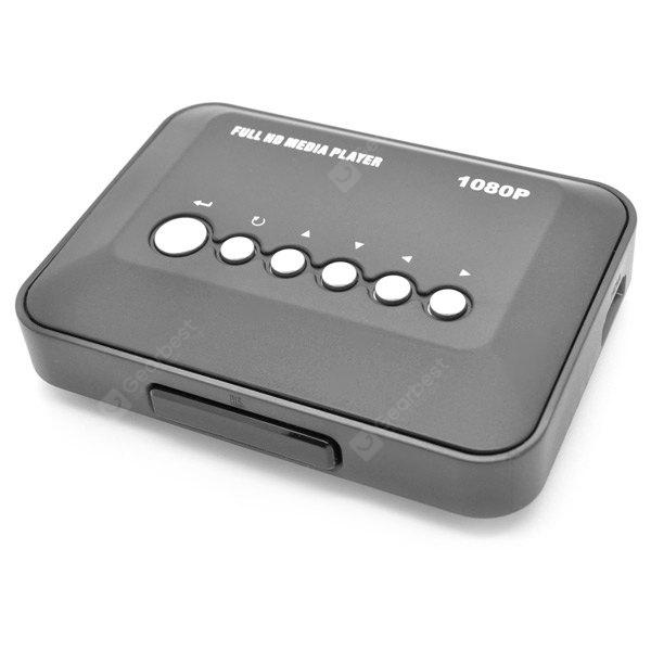MP018-F10 1080P Full HD Media Player player suporte Multi-idioma