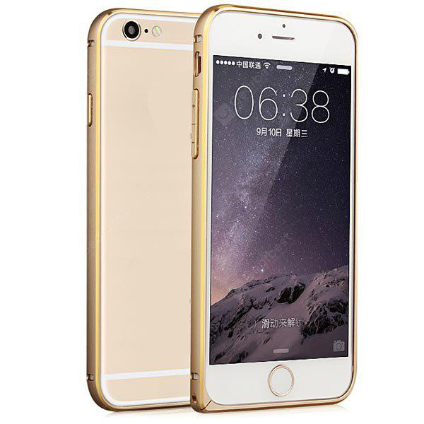GOLDEN Fabitoo Frame Style Aluminium Alloy Bumper Case for iPhone 6 4.7 inches