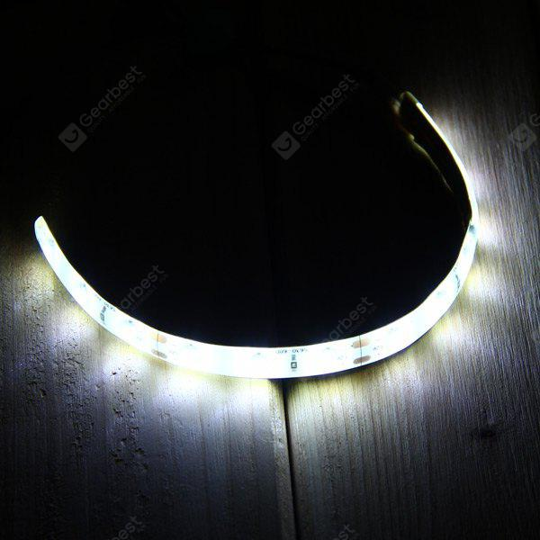 4W 20CM 12 x SMD 5730 12V Water - resistant Pure White Flexible LED Strip Tape Light