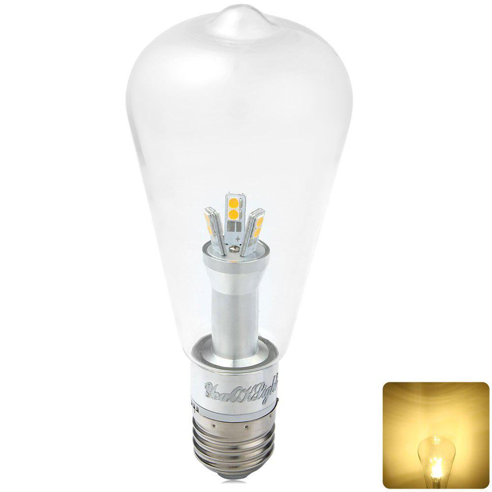 Youoklight E27 6w 580lm 3000k Squirrel Caged Globe Bulbs