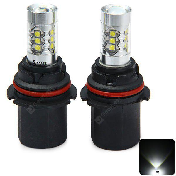 Sencart HB1 9004 P29T 4500Lm 80W 16 x Cree XPE LED Car Fog Bulb Running Light ( DC 12  -  24V 2 PCS )