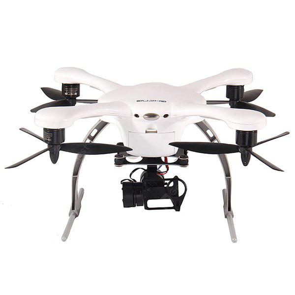 WHITE IOS EHang GHOST+ Smart RC Quadcopter with 13.0MP Camera + Gimbal GPS Auto Pathfinder Phone Control Drone
