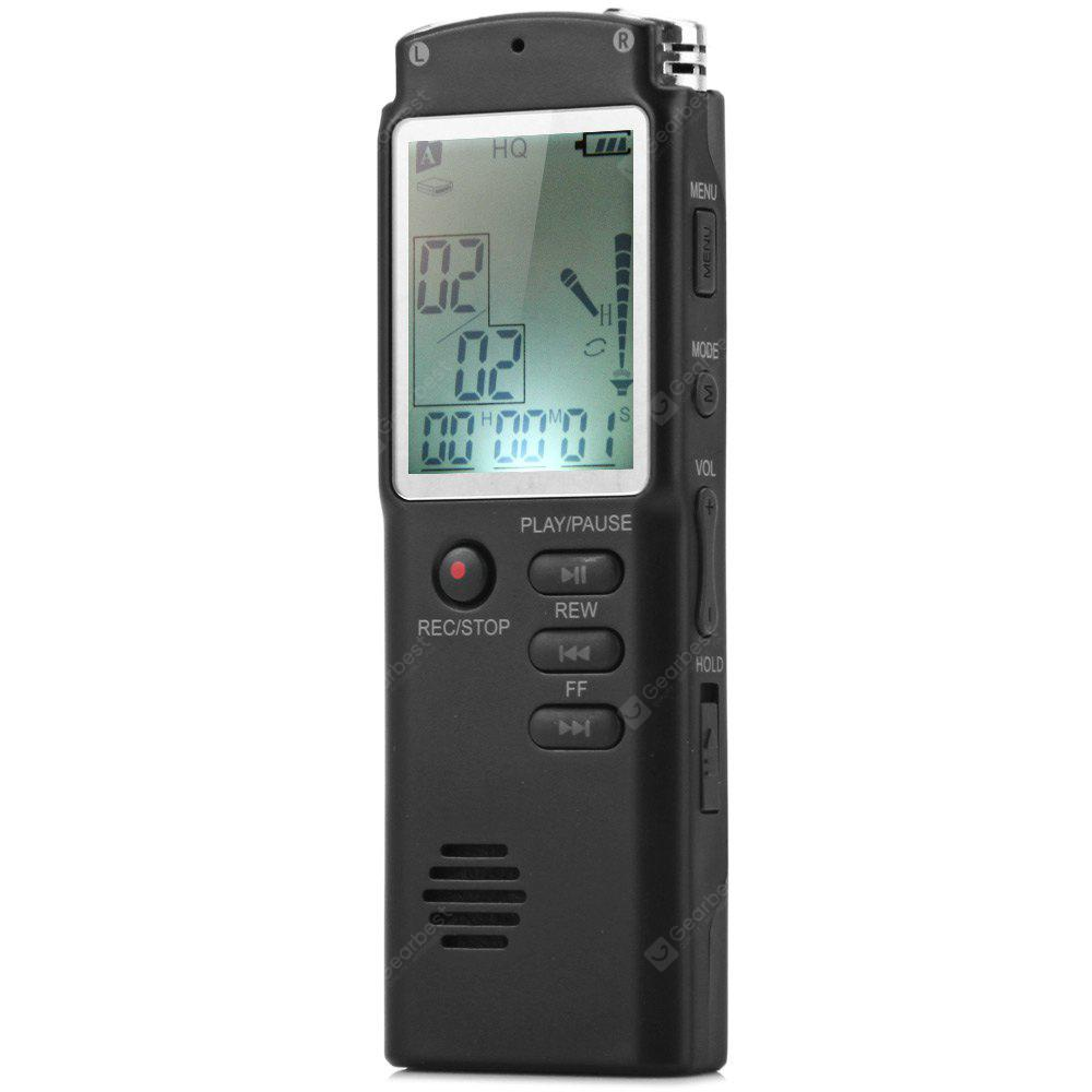 T60 8GB Handheld LCD Real Time Display Digital Voice Recorder MP3 ...
