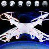 FY326 4 Channel 2.4GHz RC Quadcopter Top Selling Q7 360 Degree Flip Fly UFO - WHITE
