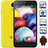 4.5 inch Mpie Mini 809T Android 4.4 3G Smartphone - YELLOW