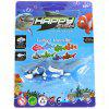Funny Electric Shark Toy Battery Control Swimming Robot Fish Toy - BLUE