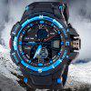 SanDa 289 Military Dual - movt Watch Water Resistant Muliti - function LED Watches for Outdoor Sports photo