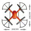JJRC H12C Headless Mode 2.4GHz 4CH RC Quadcopter 6 Axis Gyroscope 360 Degree Stumbling RTF UFO with 5.0MP HD Camera - ORANGE