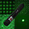 SingFire SF - LPG6 532nm 5mw Green Starry Light Laser Pen (1 x 18650 / 16340 Battery) - BLACK