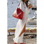 cheap Long Sleeve Long Swimsuit Cover Ups Kimono