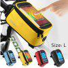 Roswheel 5.5 inch Bike Front Bag - YELLOW