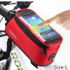 Roswheel 5.5 inch Bike Front Bag - RED