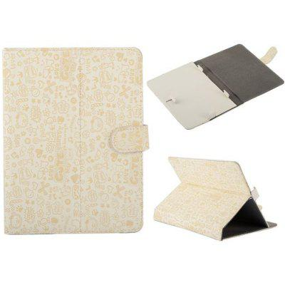 Cute Little Cartoons Pattern Universal Magnetic Flip Stand Leather Case for 8 inch Tablet PC