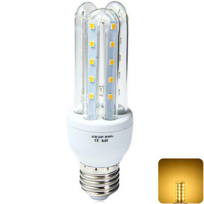 E27 3U 9W 30 x SMD 2835 850Lm LED Corn Light Warm White U - shaped Bulb ( 85  -  265V )