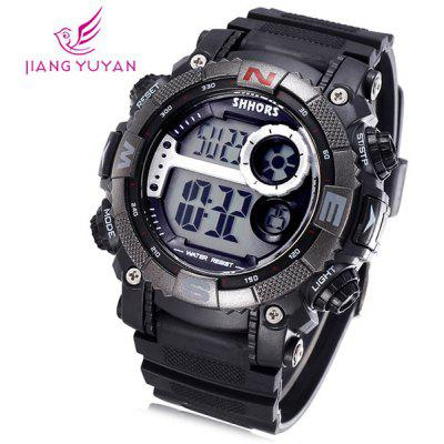 Shhors 805 Jiangyuyan Military LED Watch Water Resistant Day and Date Sports Wristwatch