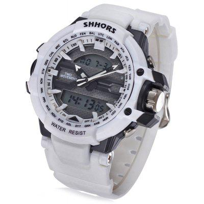 Shhors 788 Jiangyuyan Water Resistant Sports LED Watch Double Time Date Day Function