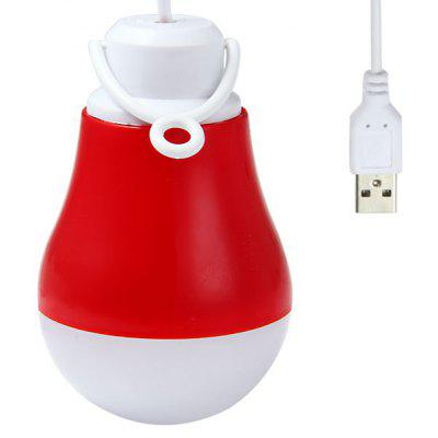 5W USB Light Bulb Globe Lamp Keyboard Reading Light  -  DC 5V