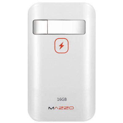 MAZZO Novel 2 in 1 16GB U Disk + 7800mAh Mobile Power Bank Mobile Power Bank