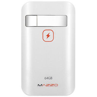 MAZZO Novel 2 in 1 64GB U Disk + 7800mAh Mobile Power Bank Mobile Power Bank