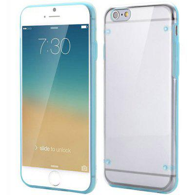 Super Slim Back Cover Case with PC TPU Material for iPhone 6  -  4.7 inches