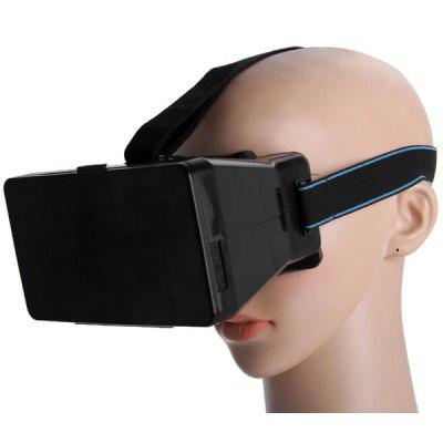 Portable Virtual Reality 3D Video Glasses with Elastic Band