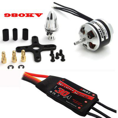 EMAX  XA Series XA2212 Outrunner Motor with Accessories + Simonk 30A ESC RC Models Spare Parts