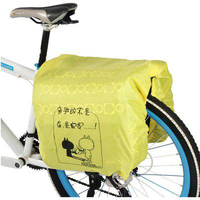 Roswheel Practical Rain Cover for Bicycle Saddle Bag Bike Rear Rack Tube Pack